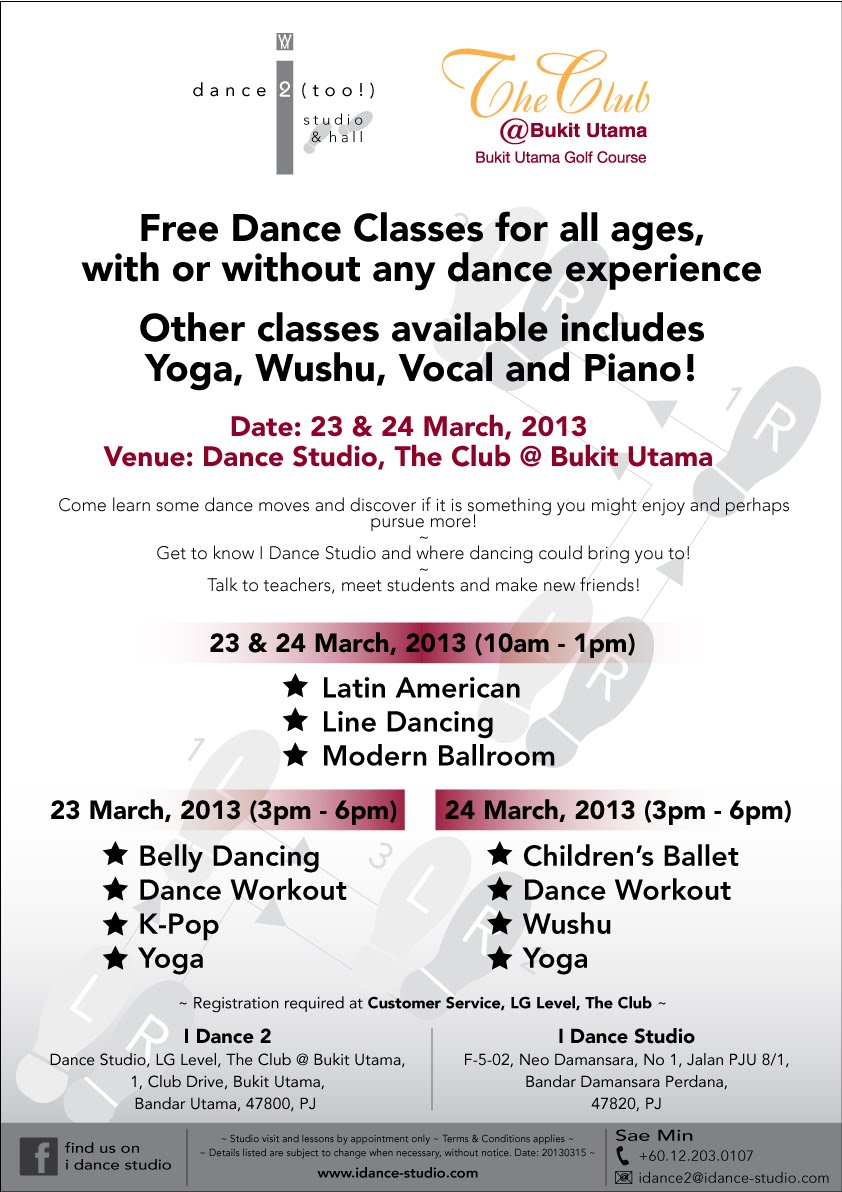 i dance 2 - open day